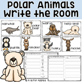 Arctic Polar Animals Write the Room