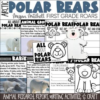 Arctic Polar Bears-Informational Text Reading, Writing, & Research