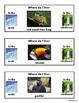 Arctic-Rainforest Animal Habitat/Clothespin Task/Cut & Paste/Sorting for Autism