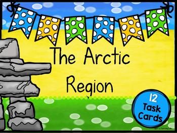Arctic Region Task Cards