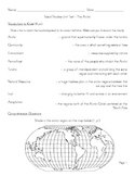Arctic Region Unit - Unit Test / Study Guide / Answer Key