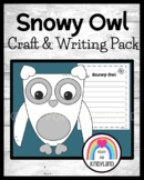 Snowy Owl Craft and Writing (Winter, Arctic Animal Research)