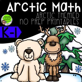 Arctic Theme Math No Prep Printables