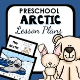 Arctic Theme Preschool Lesson Plans -Arctic Animal Activities