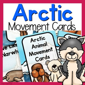 Arctic Themed Movement Cards