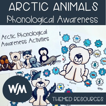 Arctic Themed Phonological Awareness Activities