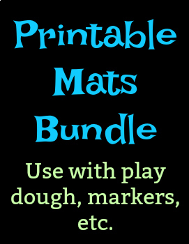 graphic regarding Printable Mats identified as 10 Printable Mats Package deal