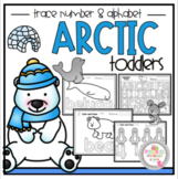 Arctic Toddler Number & Alphabet Tracing
