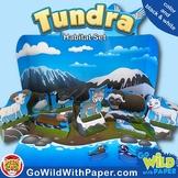 Arctic Tundra Diorama Project   Polar Animal Habitat Craft