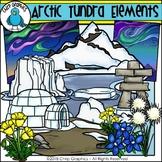 Arctic Tundra Elements Clip Art - Chirp Graphics