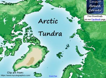 Arctic Tundra Smart Board Lesson