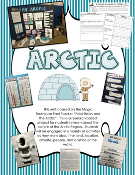 "Arctic Unit: Magic Tree House ""Polar Bears and the Arctic"""