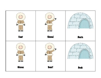 """""""Arctic"""" Vocabulary - Functions"""