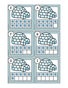 Arctic Center ~ Ways to 10 and 10 Frame Addition ~ CCSS
