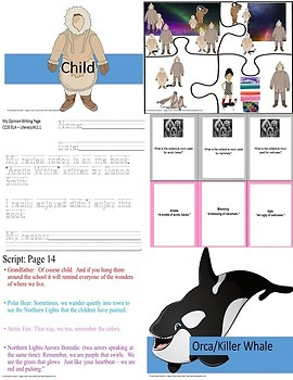 Autism Arctic White  Reader's Theatre & Activities CCSS 2nd Grade
