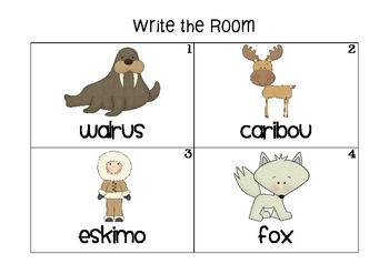 Arctic Winter Write the Room