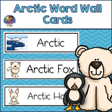 Arctic Word Wall Cards