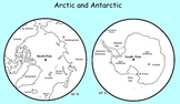 Arctic and Antarctic unit to be used with a smartboard