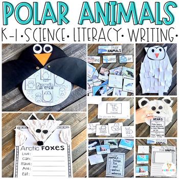 Arctic and Polar Animal Activities (20+ Sorting, Writing & ELA Printables) K-1