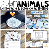 Arctic and Polar Animal Activities (20+ Sorting, Writing & ELA Printables) K-1