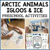 Arctic Animals, Igloos and Ice Activities-Preschool Math and Literacy Centers