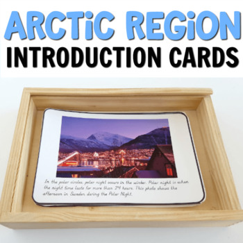 Arctic prereading cards