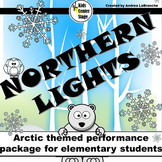 Arctic themed script for single class or large group musical performance