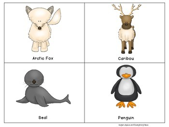 Arctic/Polar Animal Cards