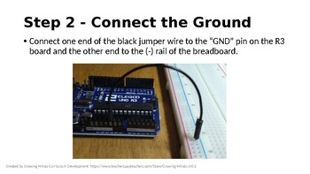 Arduino STEM Circuit Push Button Activity + Challenge!