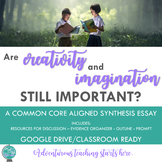 Are Creativity and Imagination Important? {An Inquiry-Base