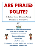 Are Pirates Polite? (seesaw friendly)