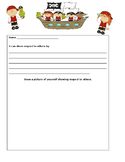 Are Pirates Polite?- Respect Writing Prompt