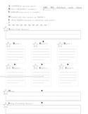 ARE WE Graphic Organizer
