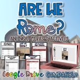 Are We Rome?  An Inquiry Based Activity {Digital AND Paper}