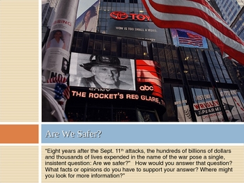 Are We Safer - 9/11