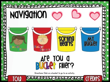 Are You A Bucket Filler? {SMARTboard Activities}