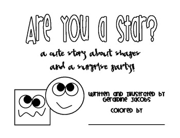 Are You A Star? - A Story About Shapes and a Surprise Party