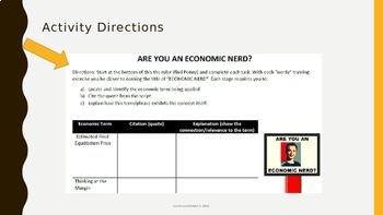 Economics - Supply and Demand Through Television