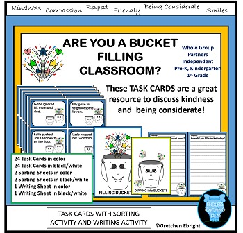 Are You  a Bucket Classroom? - Teaching kindess and respec