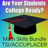 College Readiness Math Bundle