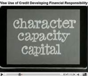 Are You Credit Worthy? (The 3 C's of a Credit Score), A Play