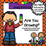 Are You Growing?:  NO PREP Growing Patterns Bump Game