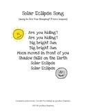 Are You Hiding? Solar Eclipse Song