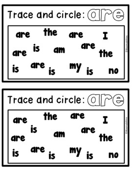 Are You Hungry? Math Emergent Reader (Sight Word: ARE)