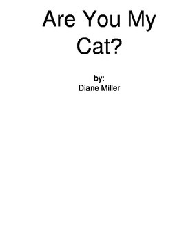 Are You My Cat - Sight Word Reader
