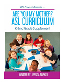 E-book Are You My Mother? ASL Curriculum