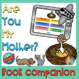 Are You My Mother Book Companion, BOOM™ Cards, Teletherapy, Language Packet