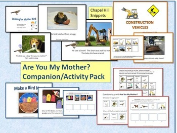 Are You My Mother? Companion Pack for Special Education and Speech