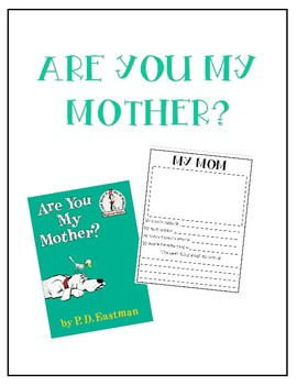 Are You My Mother? / Read Aloud