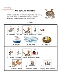 Are You My Mother? Reading Comprehension Questions with Visual Support (Autism)